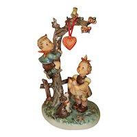 "Hummel Figurine  Here""s My Heart  Figurine  TMK 7 with original box  766"