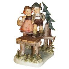 Hummel  472  On Our Way Figurine with COA and Original Box