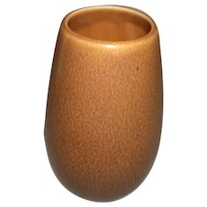 "Rookwood Pottery Brown Cabinet Vase  2105  5"" High"