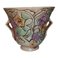 "Roseville  Pottery Morning Glory Planter Vase  5 1/2"" Tall"