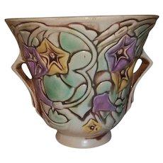 """Roseville  Pottery Morning Glory Planter Vase  5 1/2"""" Tall"""