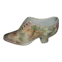 """Royal Bayreuth Porcelain Tapestry Shoe  2 1/2"""" Tall"""