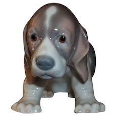 LLadro Sitting Puppy Figurine