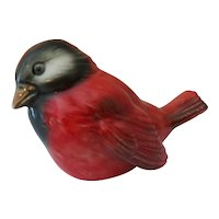 "Goebel Red Bird Figurine  2 1/2"" Tall"