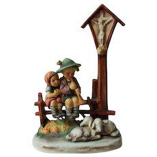 "Hummel Wayside Devotion Figurine  28III  TMK3  8 1/2"" TAll"