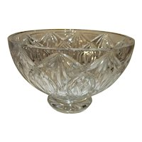 """Waterford Crystal Ashbury Footed Bowl 5"""" Tall"""