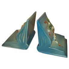 Roseville Blue Snowberry Bookends