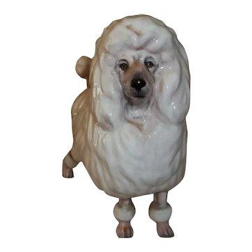 Royal Doulton Poodle Dog Figurine  HN2631
