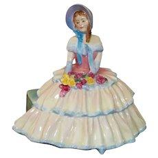 "Royal Doulton Day Dreams Figurine  HN 1732 6"" Tall"