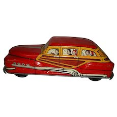 Wolverine Toy Town and Country Woody Car
