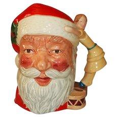 """Royal Doulton Character Jug Santa Clause  D 6668   7 1/4"""" Tall"""