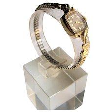 Hamilton 14K Yellow Gold Ladies Dress Watch- 750.