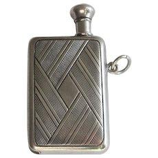 Sterling Silver Book Shape Striker Lighter Chatelaine - Red Tag Sale Item