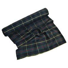 Macleod of Harris Scottish Tartan 100% Wool Fabric-5yds