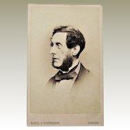 Anthony Ashley Cooper, 7th Earl of Shaftesbury CDV.