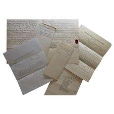 Naturalization Citizen Papers & Family History Documents-Frederick Rodigrass, Newburyport, MA-1881