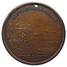 Evacuation of Boston Bronze Medal, 125th Anniversary - 1901.
