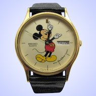 Seiko Mickey Mouse Men's Quartz Watch 5Y23-7079