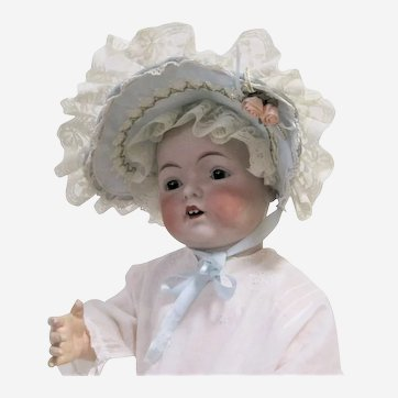 Baby Doll Frilly Lace Vintage Bonnet