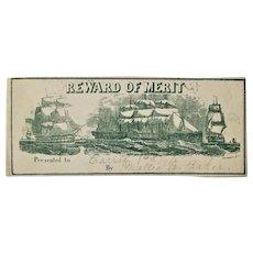 Charles Magnus Reward Of Merit Civil War Battle Ships- Student & Teacher