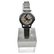 Lorus Walt Disney Mickey Mouse Quartz Date Wrist Watch