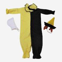 1963-1964  Mattel Ken Doll Masquerade Costume # 794