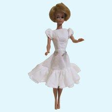 1960s 1961 Barbie Friday Night Date #979 - White Under Dress Sheath