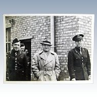 WW2 Original Photograph- James Cagney Jr. Troop Tour Salisbury, England 1942