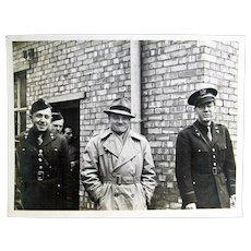 WW2 Original Photograph- James Cagney Jr. Troop Tour Salisbury, England 1942
