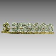 Vintage MARY KAY 14 K Yellow Gold & Diamond  $350,000. Award Pin  ~Collectors ~