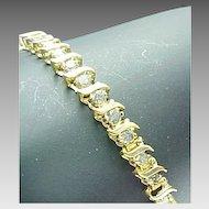 Vintage 1.00 Carat Diamond Tennis Bracelet