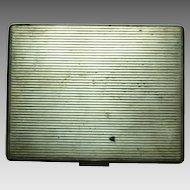 Vintage 800 silver Cigarette Case