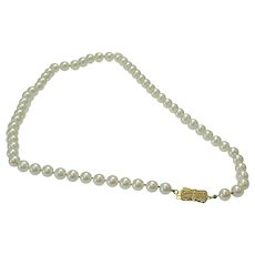 f5ca5a5266f2a Mikimoto Pearls Vintage Necklaces : Recently Sold on Ruby Lane ...