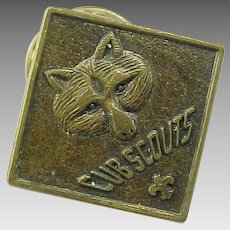 Vintage Cub Scout Placement Pin