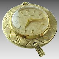 Vintage Gold Filled Woman's Bulova Pendant Watch