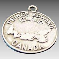 Sterling Silver Prince Edward Island Canada Charm
