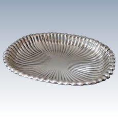 1941 Gorham Leamington Ribbed Sterling Silver, Bon Bon Dish