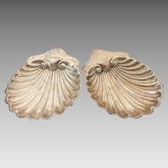 Edwardian Era Sterling Silver Footed Scalloped/Shell Dish~ By George Jackson & Fullerton