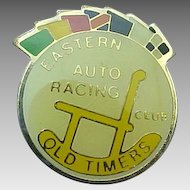 Vintage Swibco Enameled OLD TIMERS Auto Racing Collectors Pin