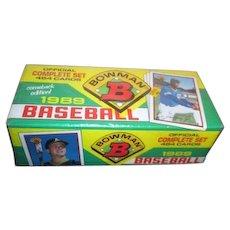 Unopened Box of 1989 Bowman Baseball Cards