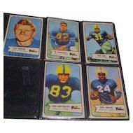 Set of 5 Bowman 1954 Football Cards Greenbay Packers