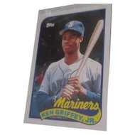 1989 Ken Griffey Jr. Topps Baseball Card