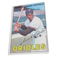Frank Robinson 1967 Topps Baseball Card