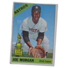 Joe Morgan Baseball Card Topps #195