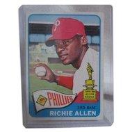 Topps Card #460 Richie Allen