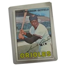 Topps Baseball Card #100 Frank Robinson