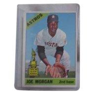 Topps Baseball Card #195 Joe Morgan 2nd Base Houston Astros