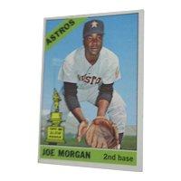 Topps #195 Joe Morgan 1966