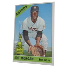 Topps #195 Joe Morgan 1966