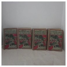 Vintage Set of Four Outdoor Girls Books